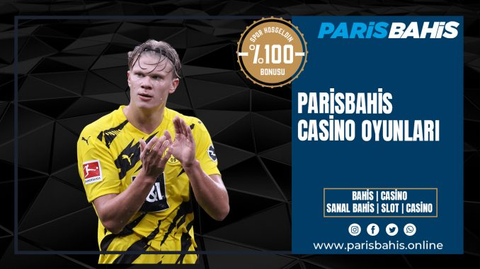 Parisbahis Casino Oyunları